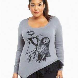 Torrid Nightmare Before Christmas Sweater